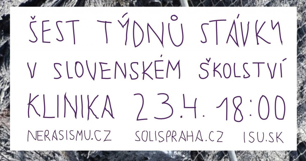 Stávka slovenských učitelů (2)