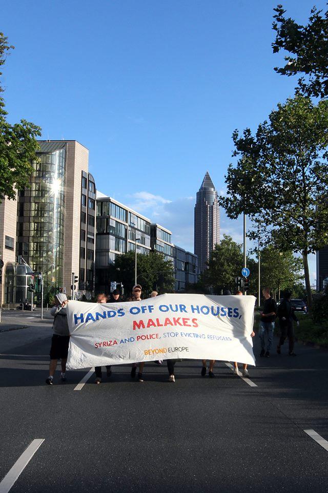 Frankfurt+Syriza